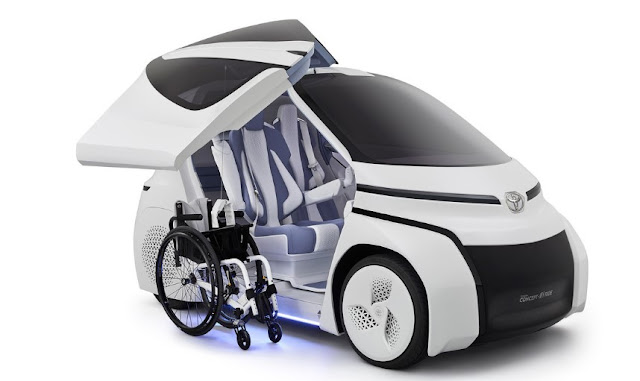 Toyota i-Ride Universal Mobility Concept