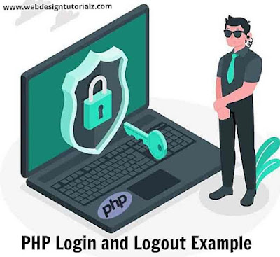 PHP Login and Logout Example