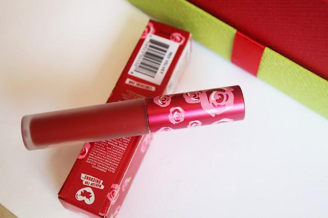 Lime Crime Velvetines matte lipstick Red Velvet