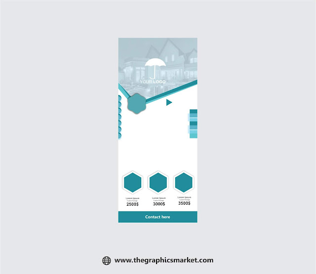 standee, roll up, panaflex, banner design, free design, vector, free download, the graphics market