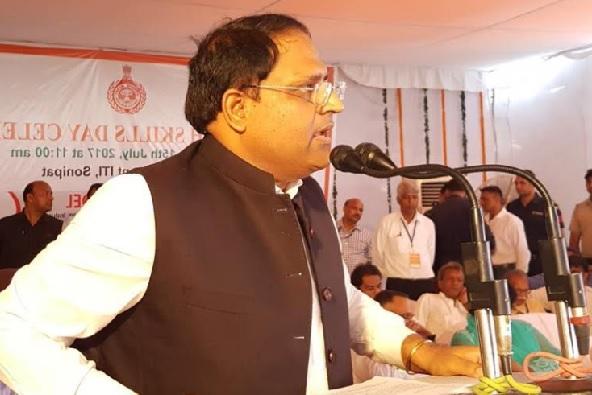 विश्व देख रहा हिंदुस्तान की ओर-देश की निगाहें हरियाणा पर: मंत्री विपुल गोयल