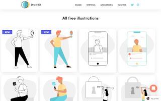 ilustraciones SVG gratuitas dibujadas en un estilo limpio