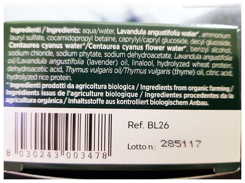 Biokap shampoo bio delicato lavanda e timo