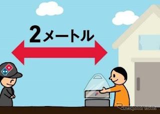 Domino´s no Japão tem serviço de entrega que tenta evitar contágio por coronavirus 1510308