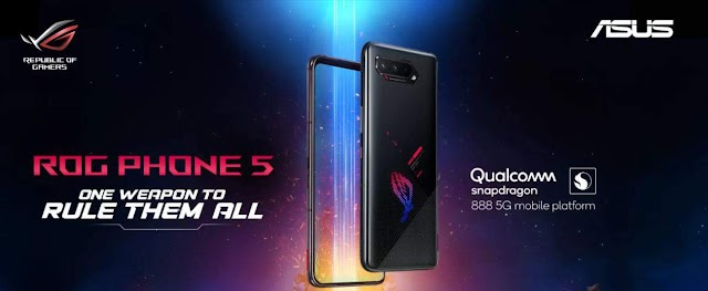 ASUS ROG PHONE 5  SERIES LAUNCHED WORLDWIDE , STARTS AT 799 EURO