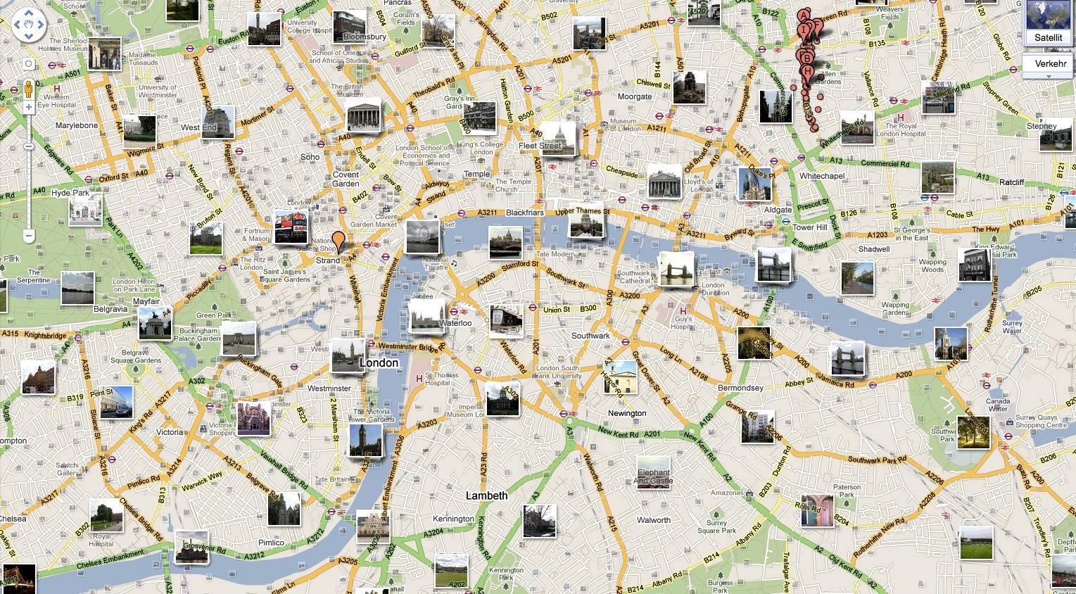 London Tourist Sites Map.London Tourist Map Travel Tourism