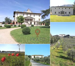 Mosaico - Immagini -  Ville - Rinascimentali - Prato