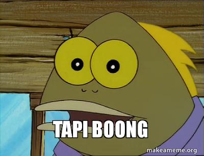 Meme SpongeBob Tapi Bohong