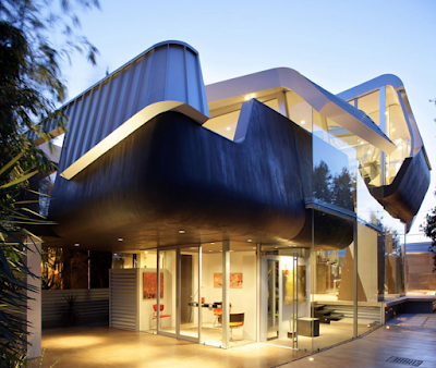 Model atap rumah minimalis yang unik dan mewah