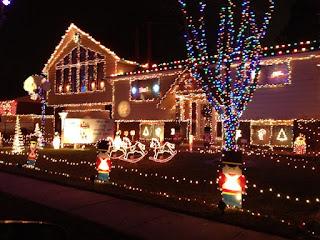 Diwali decoration with lights