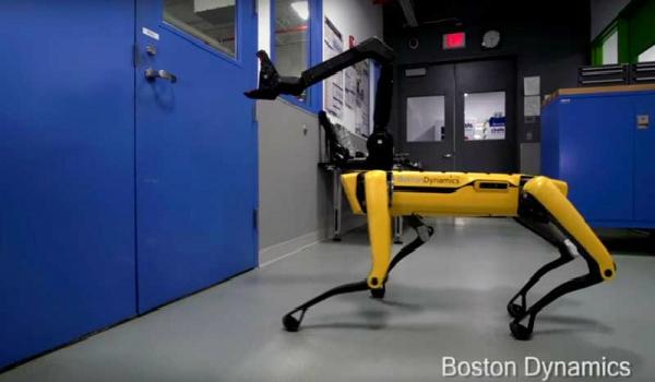 بوسطون ديناميكس تبهر العالم من جديد بفيديو روبوتها SpotMini
