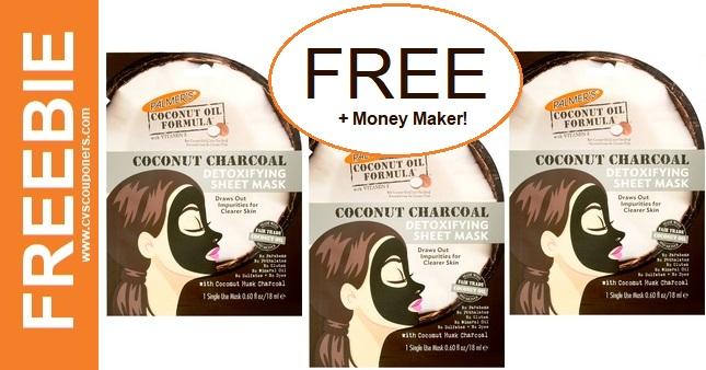 FREE Palmer's Sheet Mask CVS Deal