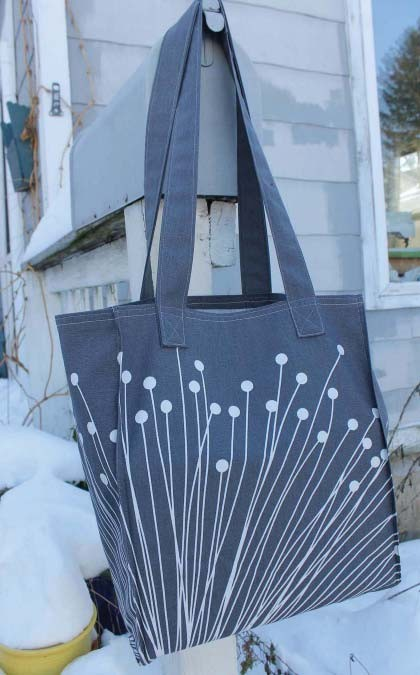Shopping Tote bag Bag Free DIY Tutorial