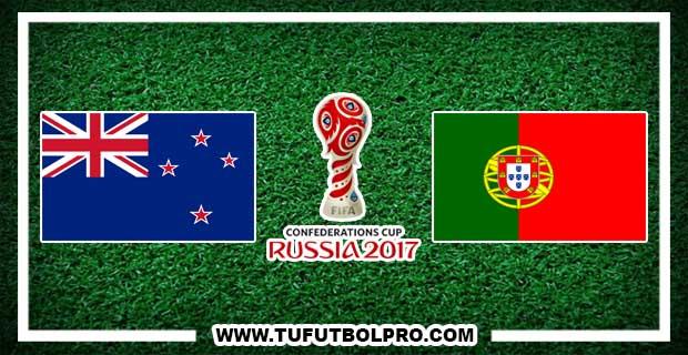 Ver Nueva Zelanda vs Portugal EN VIVO Por Internet Hoy 24 de Junio 2017