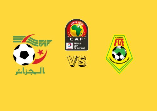 Argelia vs Guinea  Resumen