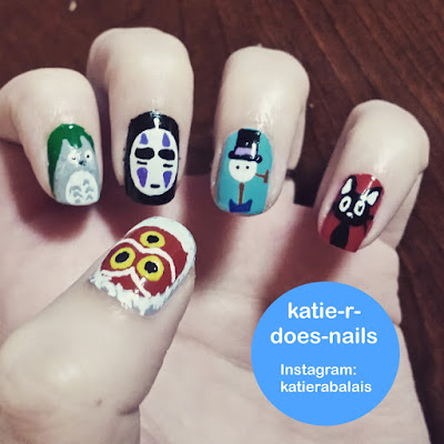 uñas decoradas con animales