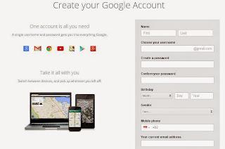 Cara Membuat Email Baru Di Google Itu Mudah Dan Cepat