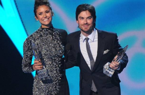 Nina Dobrev e Ian Somerhalder People's Choice Awards.
