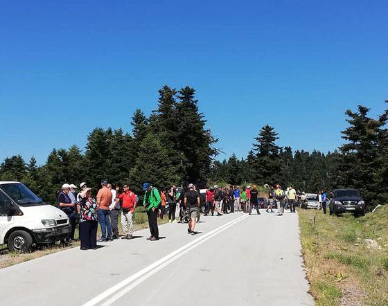 Πορεία διαμαρτυρίας στην Οίτη για τις ανεμογεννήτριες …