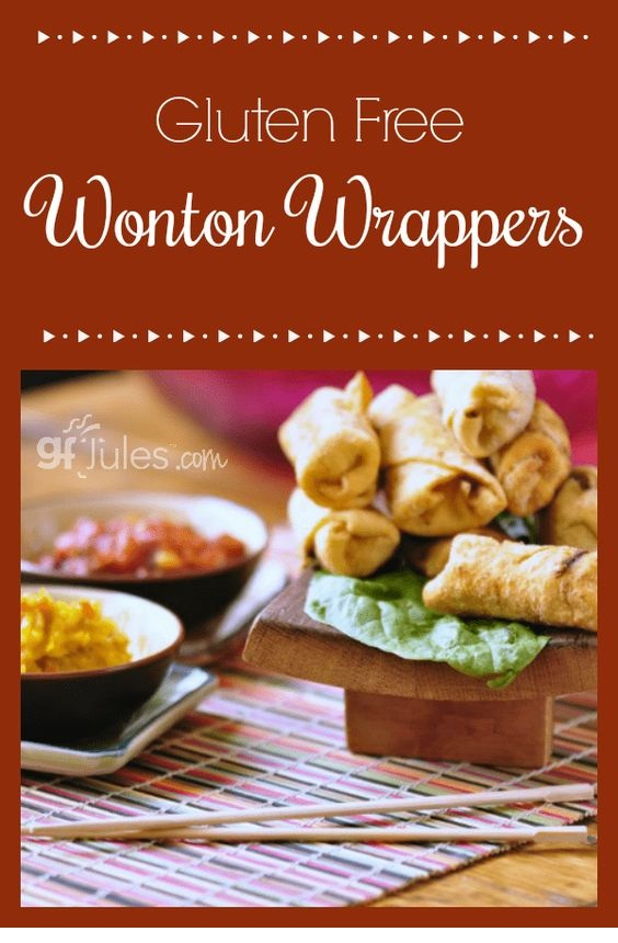 Gluten Free Wonton Wrapper Recipe