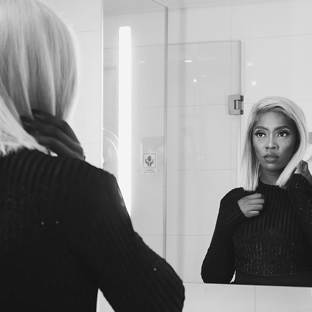 Tiwa Savage goes blonde and we love it