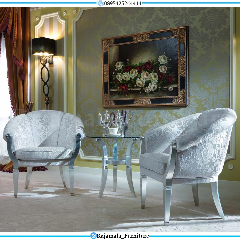 New Design Kursi Teras Santai Mewah Simple Elegant Style RM-0195