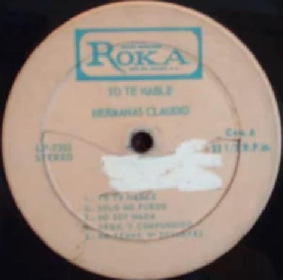 Hermanas Claudio-Yo Te Hablé-