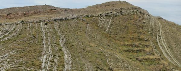 espesores erosionados