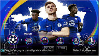 Download PES 2021 PPSSPP Android Special Chelsea Best Graphics HD Real Face & New Transfer