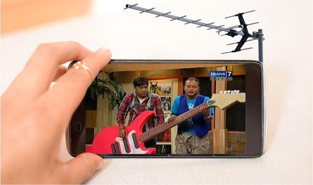 Aplikasi Android untuk Nonton TV gratis Tanpa Internet
