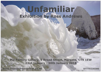 Ross Andrews exhibition at Margate Od Town Pie Factory January 23rd 30th