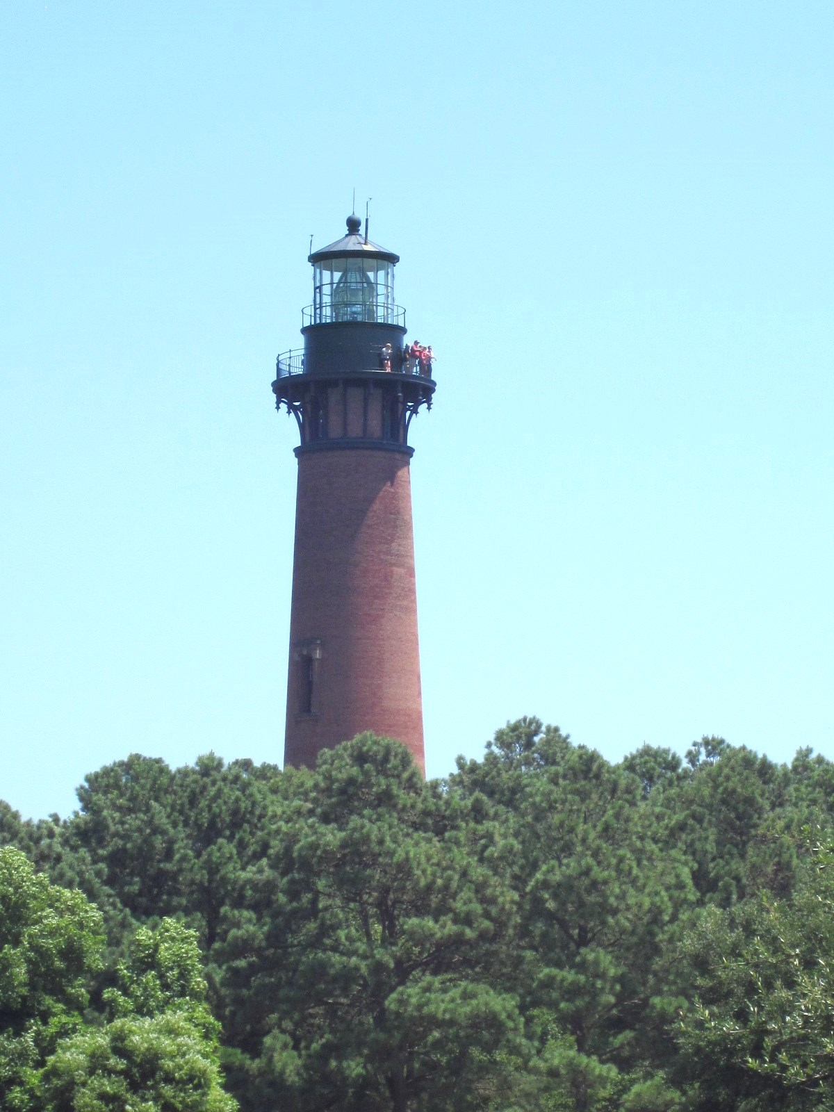 Currituck Beach Lighthouse Great Vantage Point For Seeing Northern Outer Banks
