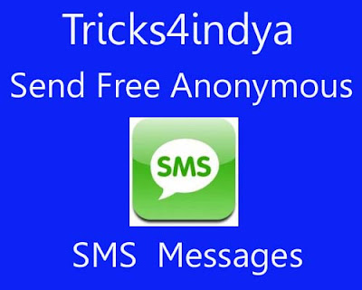 Anonymous sms / T mobile phone top up