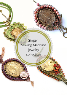 Singer Sewing Machine jewelry