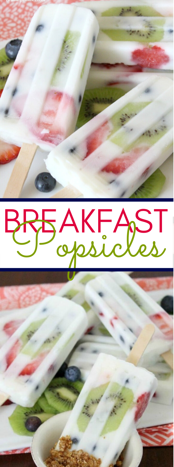 Breakfast Popsicles #desserts #frozenrecipe