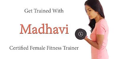 Female Personal Gym Trainer Hyderabad