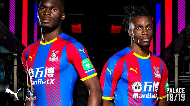 puma crystal palace 2018/19 kits