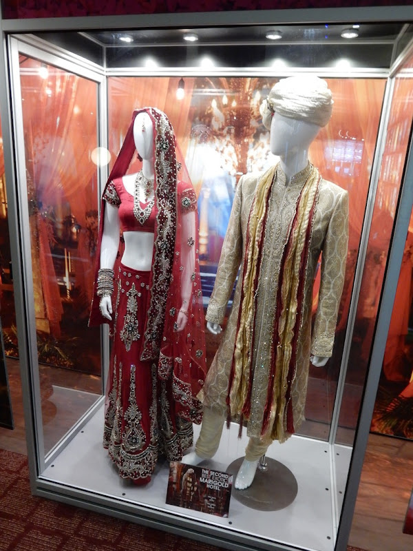 Second Best Exotic Marigold Hotel Indian wedding costumes