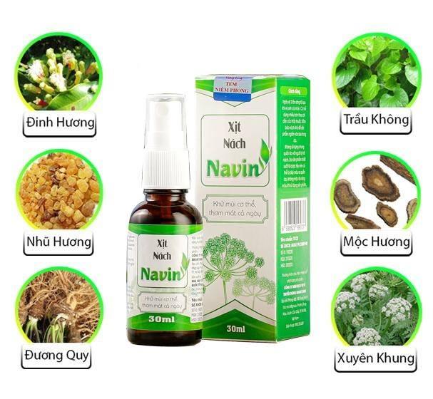 Thanh phan xit nach Navin