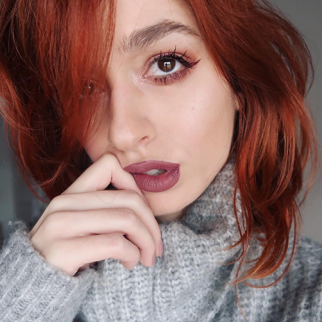 Olá cabelo ruivo!
