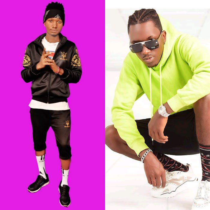 (Naija update) as skycee de ledgender seem to collaborate with mkaze after his recent track with santhosh,on dis track skycee made a promise to his mama