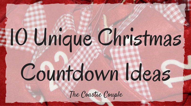 you could do a simple countdown involving a daily piece of candy but we thought itd be more fun to be creative so today youre getting ten ideas for - Christmas Countdown Ideas