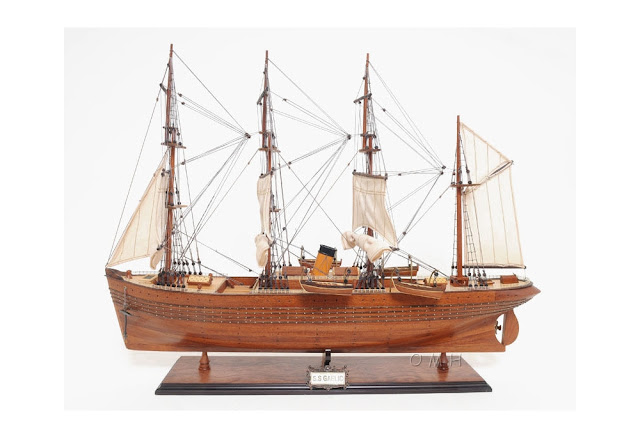 SS Gaelic Wooden Model Ship Replica