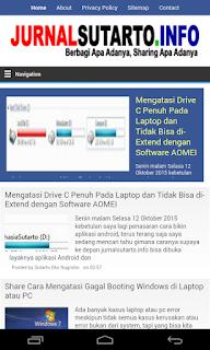 screenshot homepage APK jurnalsutarto.info