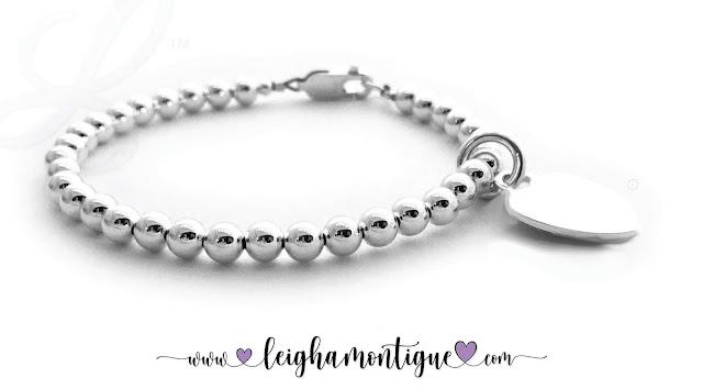 Mother's Day Heart Bracelet for Mom like Tiffany's Heart Bracelet  Link: https://designsbyleigha.com/Valentines%20Day%20Tiffany%20Inspired%20Bracelet.html