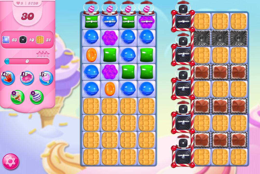 Candy Crush Saga level 5730