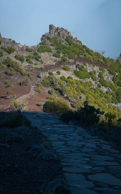 Intoarcere de pe Pico Ruivo, Madeira