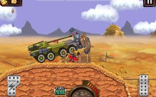 Monster Dash Hill Racer Mod Apk Unlocked all item