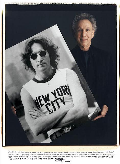 【影像故事】拍下那些經典的攝影師,究竟是誰? - Bob Gruen - John Lennon