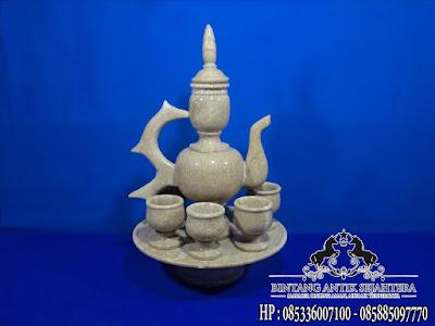 Jual Set Teko Onyx, Jual Teko Aladin Onyx, Souvenir Marmer